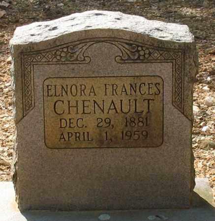 CHENAULT, ELNORA FRANCES - Saline County, Arkansas | ELNORA FRANCES CHENAULT - Arkansas Gravestone Photos