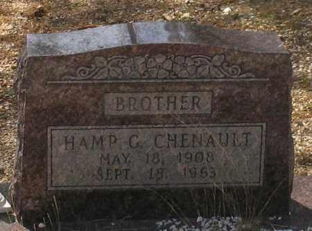 CHENAULT, HAMP G. - Saline County, Arkansas | HAMP G. CHENAULT - Arkansas Gravestone Photos