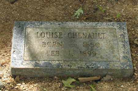 CHENAULT, LOUISE - Saline County, Arkansas | LOUISE CHENAULT - Arkansas Gravestone Photos