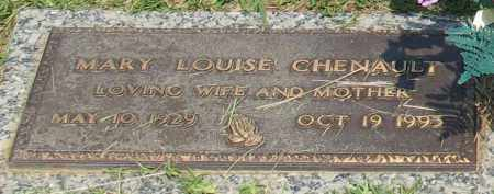 CHENAULT, MARY LOUISE - Saline County, Arkansas | MARY LOUISE CHENAULT - Arkansas Gravestone Photos