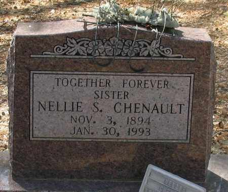 CHENAULT, NELLIE S. - Saline County, Arkansas | NELLIE S. CHENAULT - Arkansas Gravestone Photos