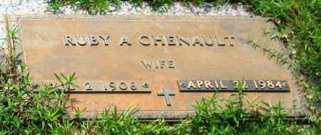CHENAULT, RUBY A. - Saline County, Arkansas | RUBY A. CHENAULT - Arkansas Gravestone Photos