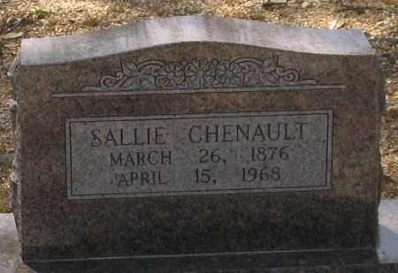 CHENAULT, SALLIE - Saline County, Arkansas | SALLIE CHENAULT - Arkansas Gravestone Photos