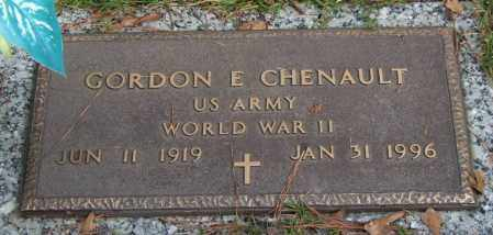 CHENAULT (VETERAN WWII), GORDON E - Saline County, Arkansas | GORDON E CHENAULT (VETERAN WWII) - Arkansas Gravestone Photos