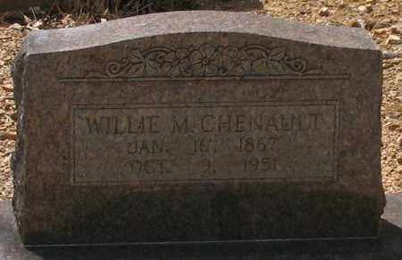 CHENAULT, WILLIE M. - Saline County, Arkansas | WILLIE M. CHENAULT - Arkansas Gravestone Photos