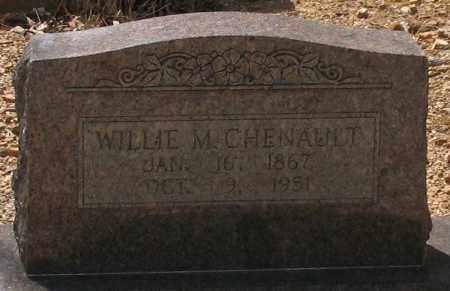 CHENAULT, WILLIE M. - Saline County, Arkansas | WILLIE M. CHENAULT - Arkansas Gravestone Photos