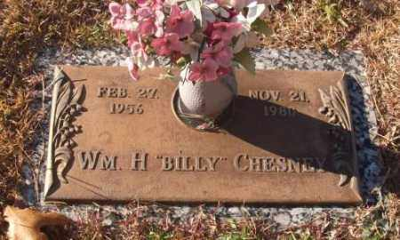 "CHESNEY, WM. H ""BILLY"" - Saline County, Arkansas 
