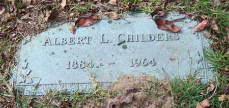 CHILDERS, ALBERT L. - Saline County, Arkansas | ALBERT L. CHILDERS - Arkansas Gravestone Photos