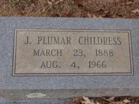 CHILDRESS, J. PULMAR - Saline County, Arkansas | J. PULMAR CHILDRESS - Arkansas Gravestone Photos