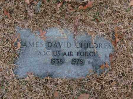 CHILDRESS (VETERAN), JAMES DAVID - Saline County, Arkansas | JAMES DAVID CHILDRESS (VETERAN) - Arkansas Gravestone Photos