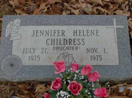 CHILDRESS, JENNIFER HELENE - Saline County, Arkansas | JENNIFER HELENE CHILDRESS - Arkansas Gravestone Photos
