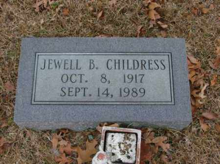 CHILDRESS, JEWELL B. - Saline County, Arkansas | JEWELL B. CHILDRESS - Arkansas Gravestone Photos