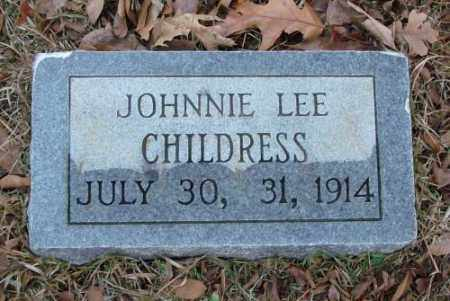 CHILDRESS, JOHNNIE LEE - Saline County, Arkansas | JOHNNIE LEE CHILDRESS - Arkansas Gravestone Photos