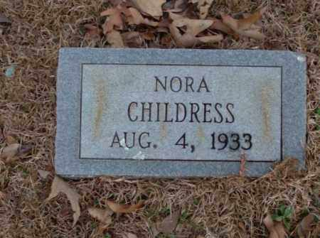 CHILDRESS, NORA - Saline County, Arkansas | NORA CHILDRESS - Arkansas Gravestone Photos