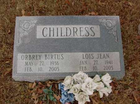 CHILDRESS, ORBREY BIRTUS - Saline County, Arkansas | ORBREY BIRTUS CHILDRESS - Arkansas Gravestone Photos