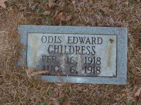CHILDRESS, ODIS EDWARD - Saline County, Arkansas | ODIS EDWARD CHILDRESS - Arkansas Gravestone Photos