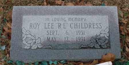 "CHILDRESS, ROY LEE ""R L"" - Saline County, Arkansas 