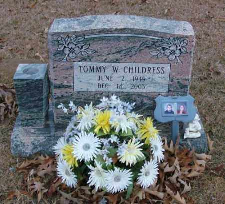CHILDRESS, TOMMY W. - Saline County, Arkansas | TOMMY W. CHILDRESS - Arkansas Gravestone Photos