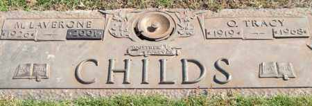 CHILDS, OMER TRACY - Saline County, Arkansas | OMER TRACY CHILDS - Arkansas Gravestone Photos
