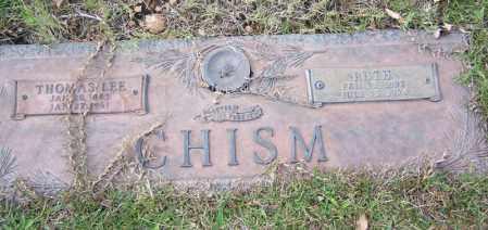 CHISM, THOMAS LEE - Saline County, Arkansas | THOMAS LEE CHISM - Arkansas Gravestone Photos