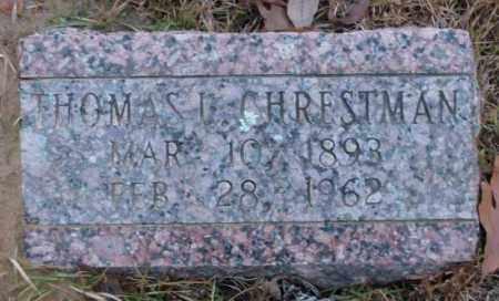 CHRESTMAN, THOMAS L. - Saline County, Arkansas | THOMAS L. CHRESTMAN - Arkansas Gravestone Photos