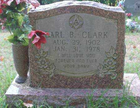 CLARK, EARL B - Saline County, Arkansas | EARL B CLARK - Arkansas Gravestone Photos