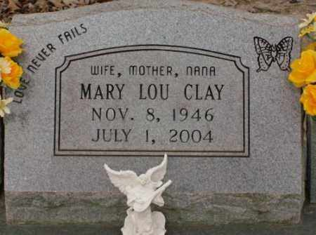 CLAY, MARY LOU - Saline County, Arkansas | MARY LOU CLAY - Arkansas Gravestone Photos