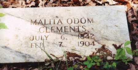 CLEMENTS, MALITA - Saline County, Arkansas | MALITA CLEMENTS - Arkansas Gravestone Photos