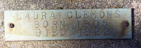 CLEMONS, LAURA - Saline County, Arkansas | LAURA CLEMONS - Arkansas Gravestone Photos