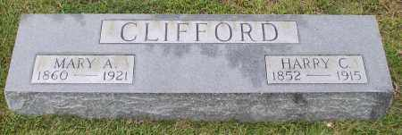 CLIFFORD, HARRY C. - Saline County, Arkansas | HARRY C. CLIFFORD - Arkansas Gravestone Photos