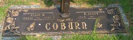 COBURN, ELLIE M. - Saline County, Arkansas | ELLIE M. COBURN - Arkansas Gravestone Photos