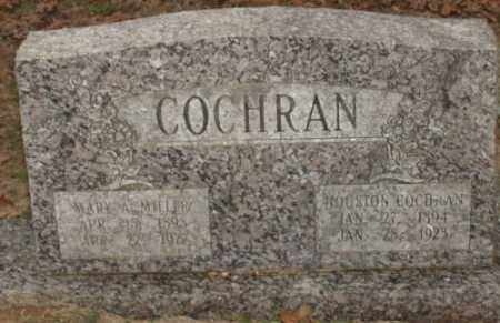 MILLER COCHRAN, MARY A - Saline County, Arkansas | MARY A MILLER COCHRAN - Arkansas Gravestone Photos