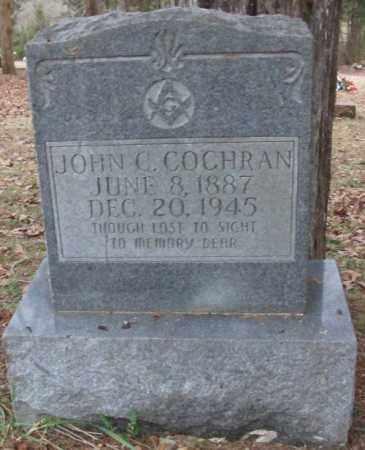 COCHRAN, JOHN C. - Saline County, Arkansas | JOHN C. COCHRAN - Arkansas Gravestone Photos