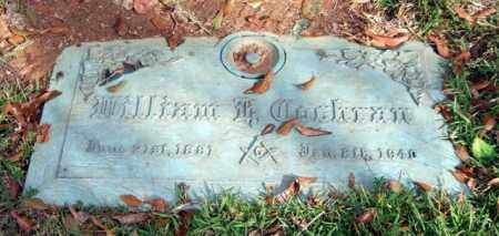 COCHRAN, WILLIAM H. - Saline County, Arkansas | WILLIAM H. COCHRAN - Arkansas Gravestone Photos