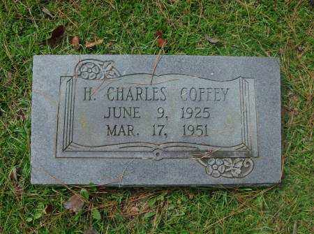 COFFEY, H. CHARLES - Saline County, Arkansas | H. CHARLES COFFEY - Arkansas Gravestone Photos