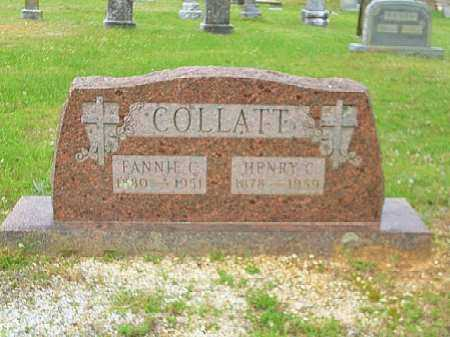 MITCHELL COLLATT, FANNIE C. - Saline County, Arkansas | FANNIE C. MITCHELL COLLATT - Arkansas Gravestone Photos
