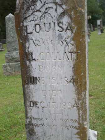 MONTGOMERY COLLATT, LOUISA - Saline County, Arkansas | LOUISA MONTGOMERY COLLATT - Arkansas Gravestone Photos