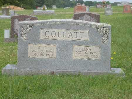 COLLATT, LENA - Saline County, Arkansas | LENA COLLATT - Arkansas Gravestone Photos