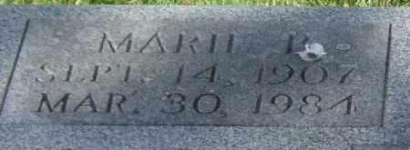 COLLINS, MARIE B. (CLOSEUP) - Saline County, Arkansas | MARIE B. (CLOSEUP) COLLINS - Arkansas Gravestone Photos