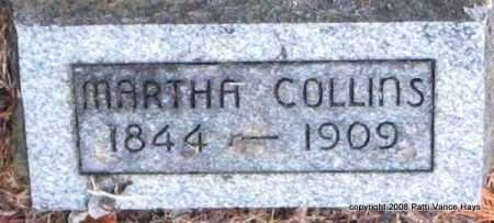 MANGUM COLLINS, MARTHA - Saline County, Arkansas | MARTHA MANGUM COLLINS - Arkansas Gravestone Photos
