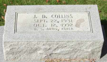 COLLINS (VETERAN KOR), J. D. - Saline County, Arkansas | J. D. COLLINS (VETERAN KOR) - Arkansas Gravestone Photos
