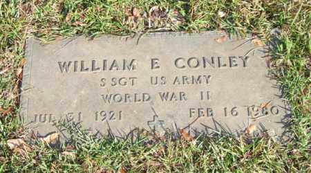 CONLEY (VETERAN WWII), WILLIAM E - Saline County, Arkansas | WILLIAM E CONLEY (VETERAN WWII) - Arkansas Gravestone Photos