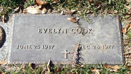 COOK, EVELYN - Saline County, Arkansas | EVELYN COOK - Arkansas Gravestone Photos