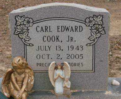 COOK, JR., CARL EDWARD - Saline County, Arkansas | CARL EDWARD COOK, JR. - Arkansas Gravestone Photos