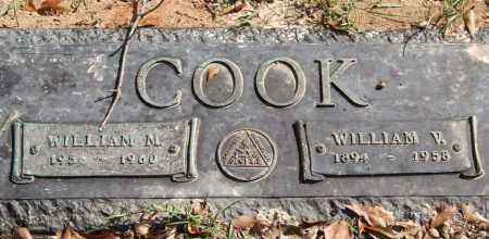 COOK, WILLIAM M. - Saline County, Arkansas | WILLIAM M. COOK - Arkansas Gravestone Photos