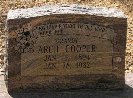 COOPER, ARCH - Saline County, Arkansas | ARCH COOPER - Arkansas Gravestone Photos