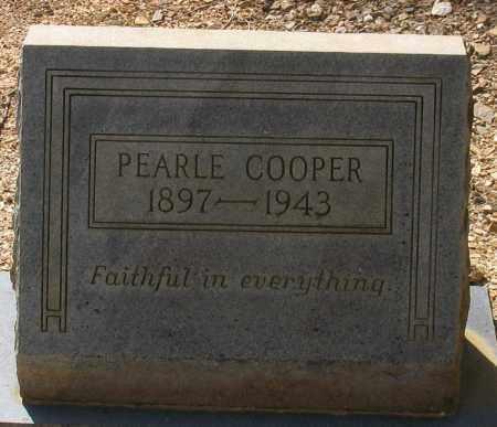 WALLIS COOPER, PEARLE NAOMI - Saline County, Arkansas | PEARLE NAOMI WALLIS COOPER - Arkansas Gravestone Photos