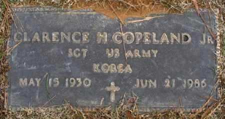 COPELAND, JR. (VETERAN KOR), CLARENCE H - Saline County, Arkansas | CLARENCE H COPELAND, JR. (VETERAN KOR) - Arkansas Gravestone Photos