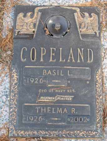 COPELAND, THELMA R. - Saline County, Arkansas | THELMA R. COPELAND - Arkansas Gravestone Photos