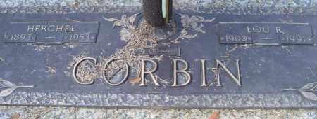 CORBIN, HERCHEL - Saline County, Arkansas | HERCHEL CORBIN - Arkansas Gravestone Photos